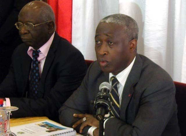Raymond Ndong Sima Raymond Ndong Sima fait la promo du Gabon mergent