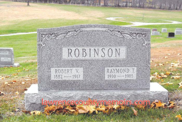 Raymond Robinson (Green Man) Lawrence County Memoirs Ray Robinson aka The Green Man