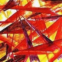Rayonism Rayonism Luchism Russian Abstract Art Movement