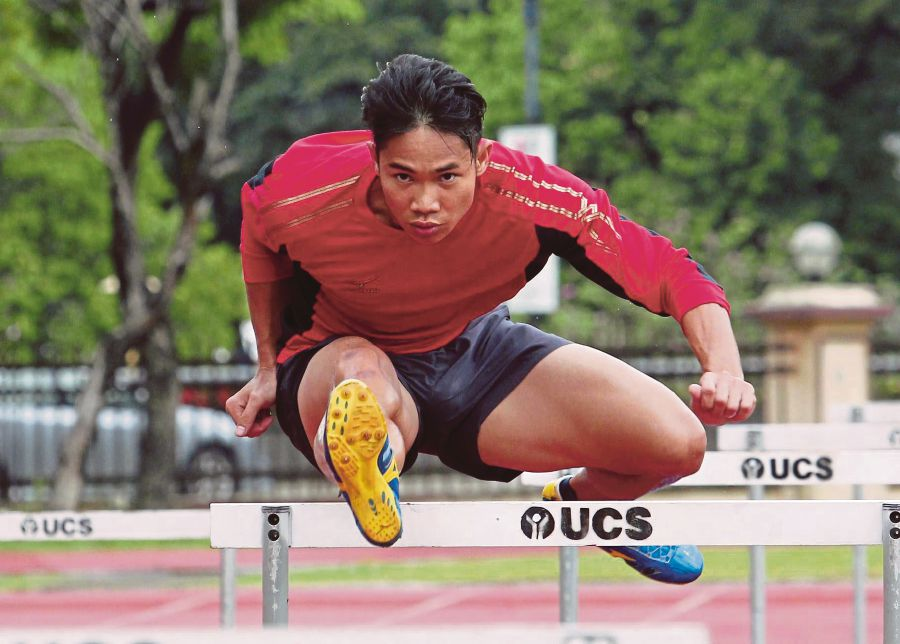 Rayzam Shah Wan Sofian Athletics Rayzam Shah smashes national 110m hurdles record in