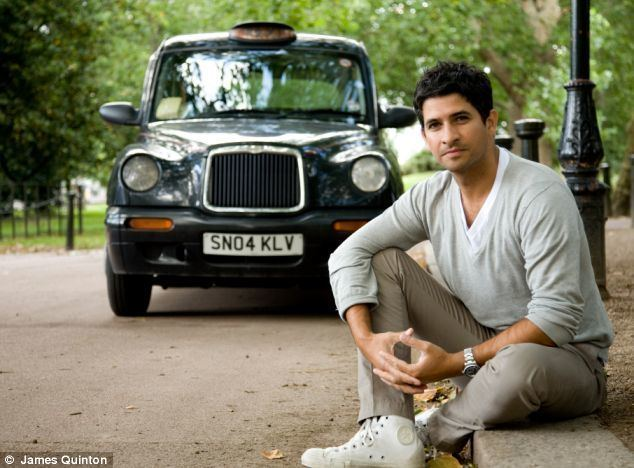 Raza Jaffrey In a taxi with Actor and wannabe pilot Raza Jaffrey Daily Mail Online