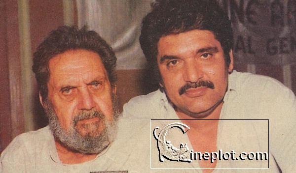 Raza Murad Raza Murad with his father Murad 1996