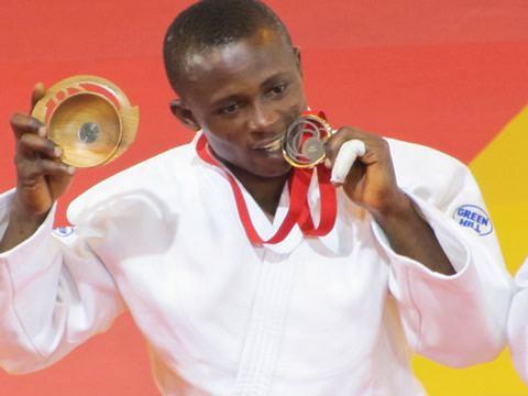 Razak Abugiri Razak Abugiri wins Ghanas first Judo Medal Ghana Olympic Committee