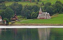 Rødven Church uploadwikimediaorgwikipediacommonsthumb226