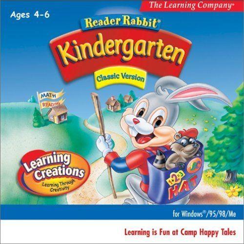 Reader Rabbit Kindergarten Amazoncom Reader Rabbit Kindergarten Classic Jewel Case