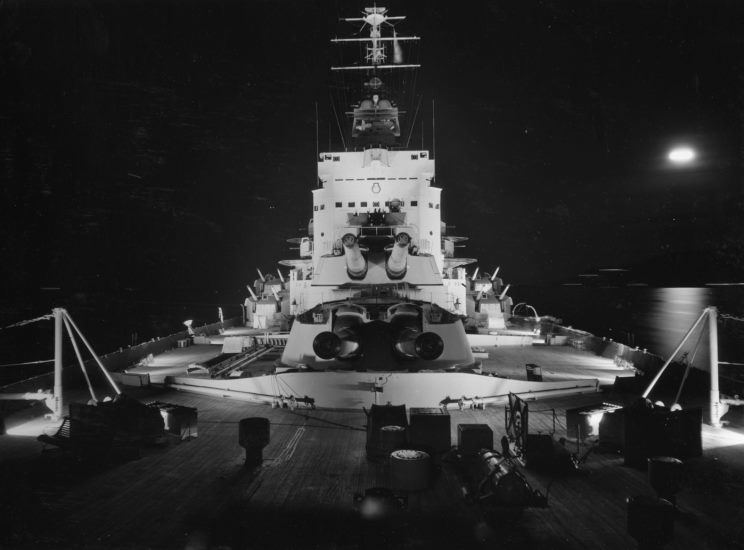 Ready, Woolen and Able movie scenes As such she had almost all of the scenes involving battleships for the 1960 film Sink the Bismarck filmed aboard her Thus she had the distinction of