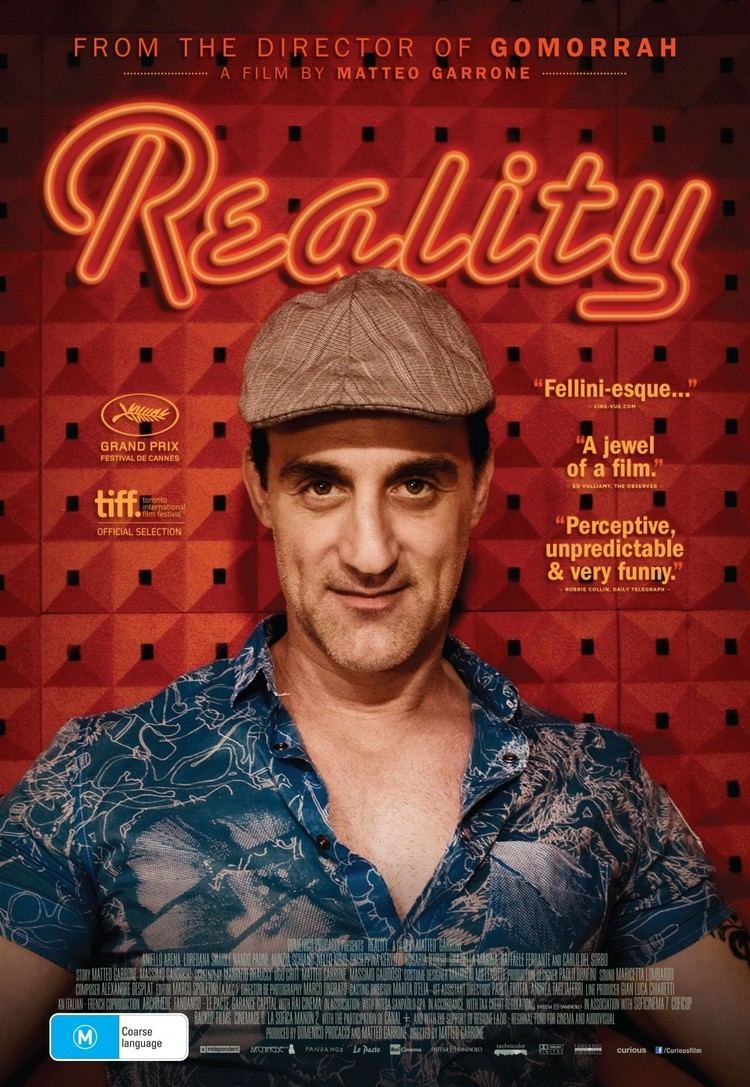 Reality (2012 film) Reality Movie Poster 7 of 7 IMP Awards