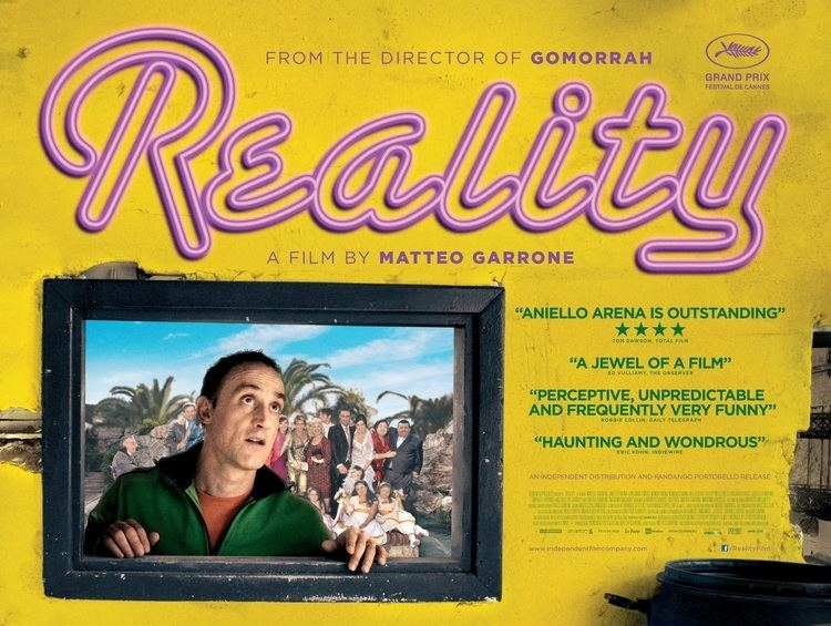 Reality (2012 film) Interview with Film Director Matteo Garrone ITALY Magazine