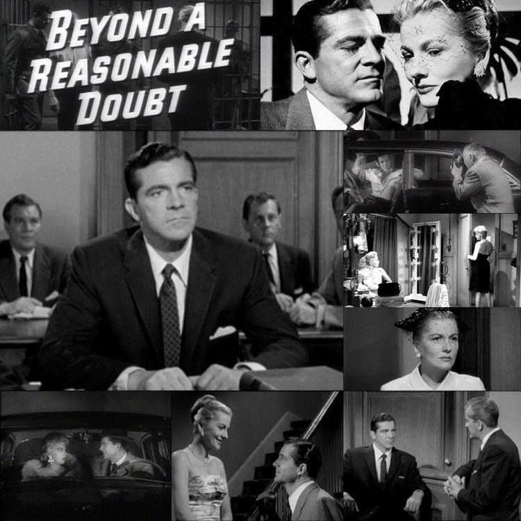 Reasonable Doubt (1936 film) Fritz Langs BEYOND A REASONABLE DOUBT 1956 Film in Frame