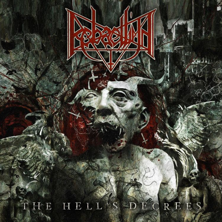 Rebaelliun The Hell39s Decrees Hammerheart Records