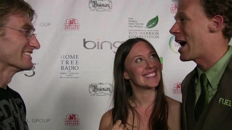 Rebecca Harrell Tickell Robert Cheeke interviews Josh Tickell amp Rebecca Harrell