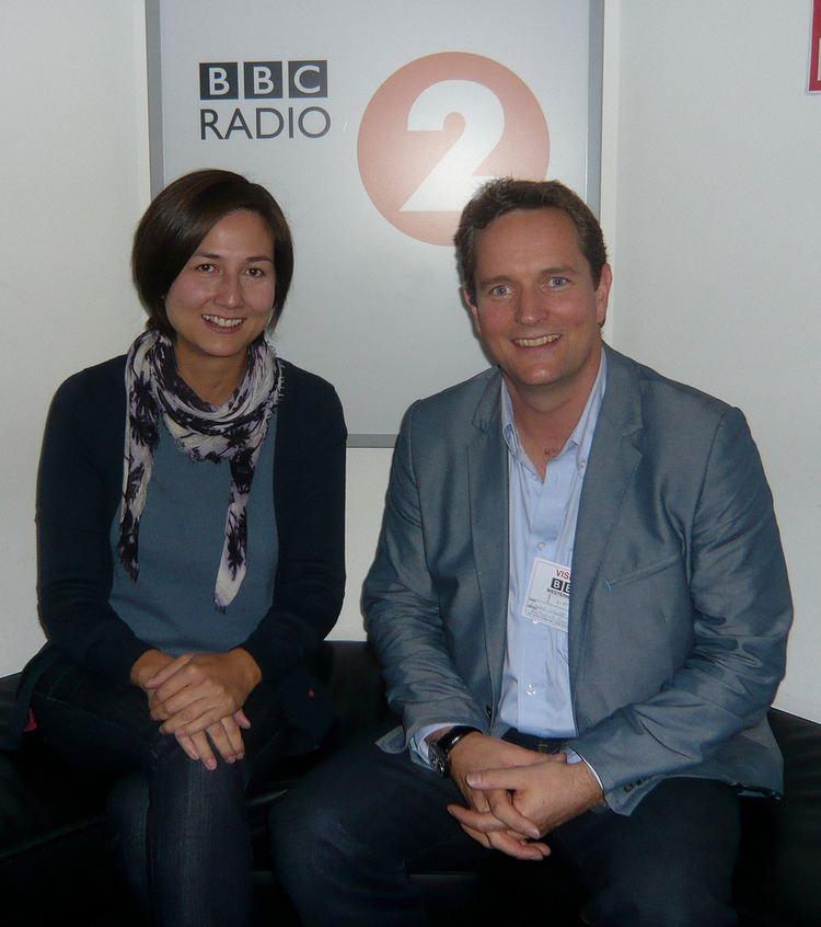 Rebecca Pike Simon Webb and Rebecca Pike at BBC Radio 2 Flickr