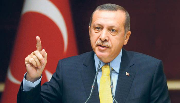 Recep Tayyip Erdoğan Portrait of Recep Tayyip Erdogan Reporters without borders