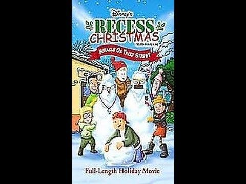 Recess Christmas: Miracle on Third Street Opening To Recess ChristmasMiracle On Third Street 2001 VHS YouTube