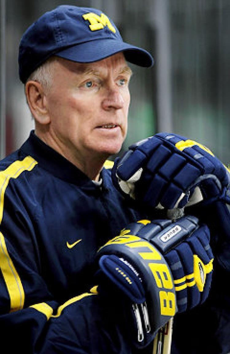 Red Berenson Former Ranger Red Berenson is still True Blue as head coach at