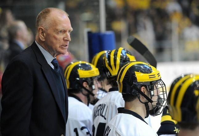 Red Berenson Michigan hockey coach Red Berenson considered retirement before late