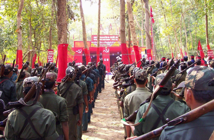 Red corridor Dissident Is India39s Red Corridor a Dead End
