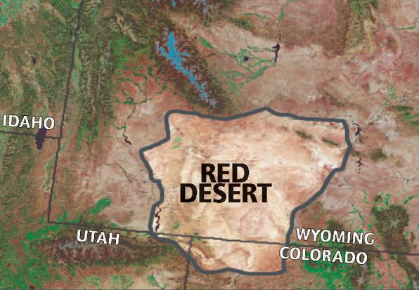 Red Desert Wyoming Alchetron The Free Social Encyclopedia