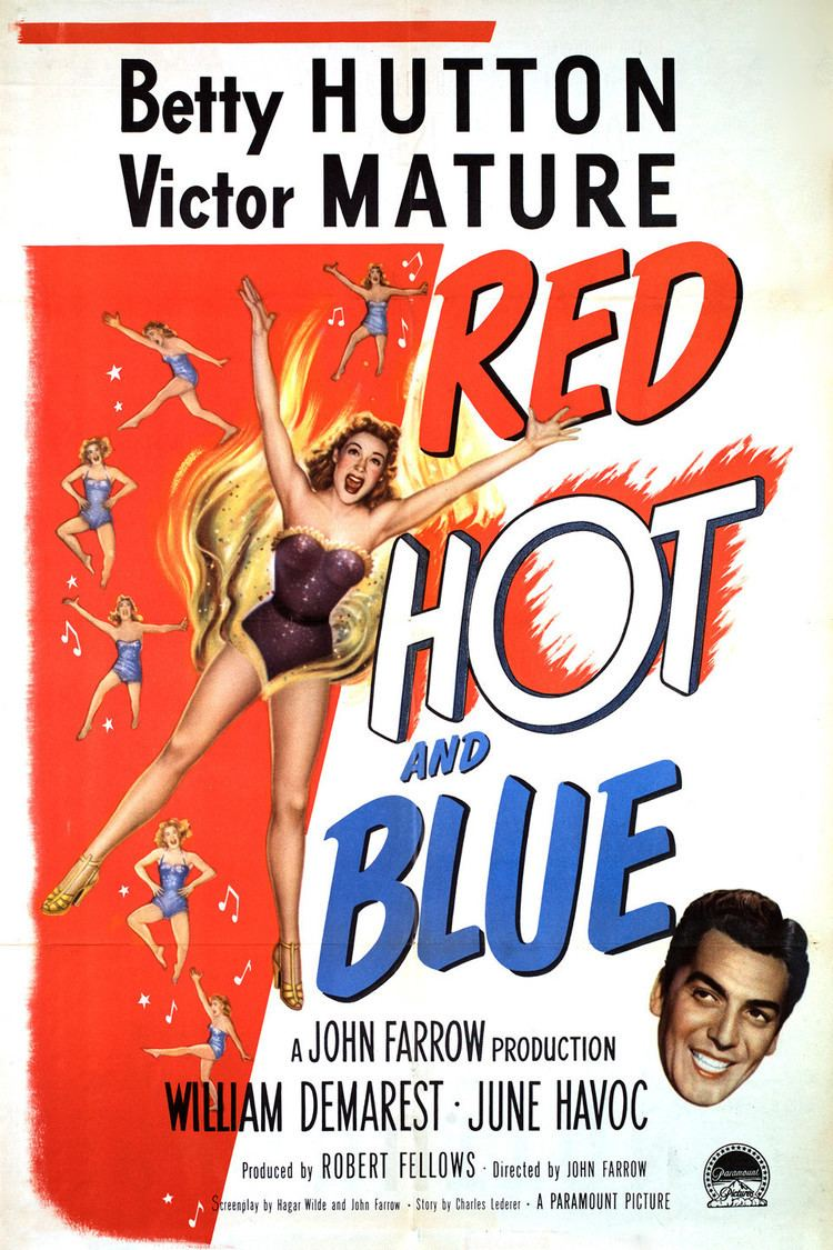 Red, Hot and Blue (film) wwwgstaticcomtvthumbmovieposters37809p37809