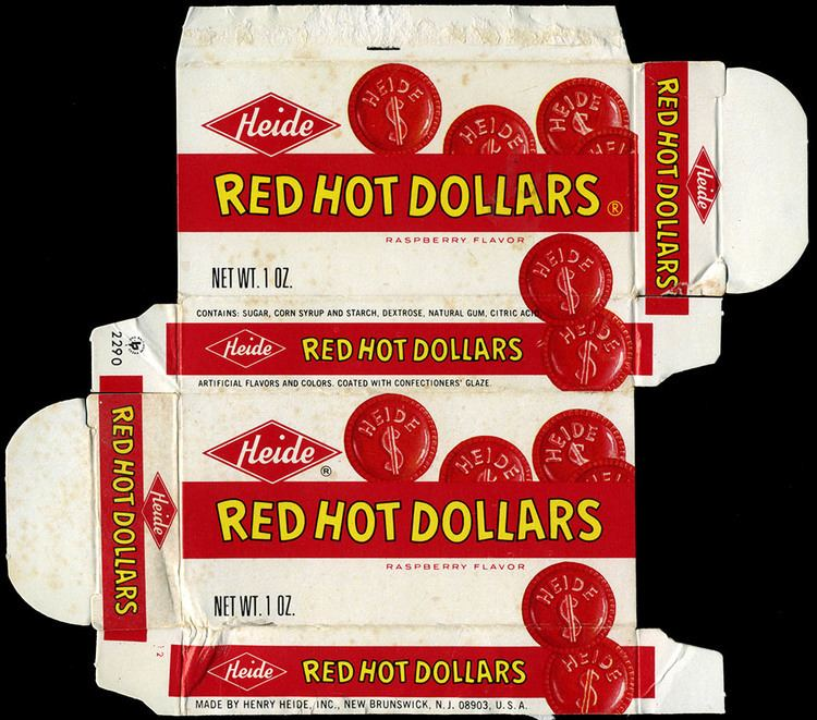 Red Hot Dollars Heides Red Hot Dollars CollectingCandycom