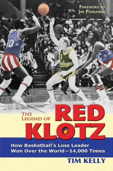 Red Klotz Red39 Klotz playercoach for Globetrotters 39opponent