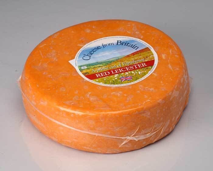 Red Leicester Amber Valley Red Leicester World Harvest Foods Champaign Illinois