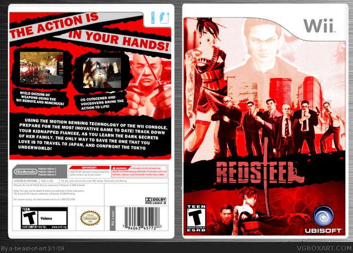 Red Steel vgboxartcomboxesWii27250redsteelpng