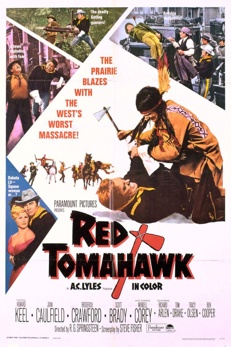 Red Tomahawk wwwgstaticcomtvthumbmovieposters36850p36850