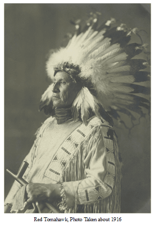 Red Tomahawk Red Tomahawk the Man who killed Sitting Bull Welch Dakotah Papers