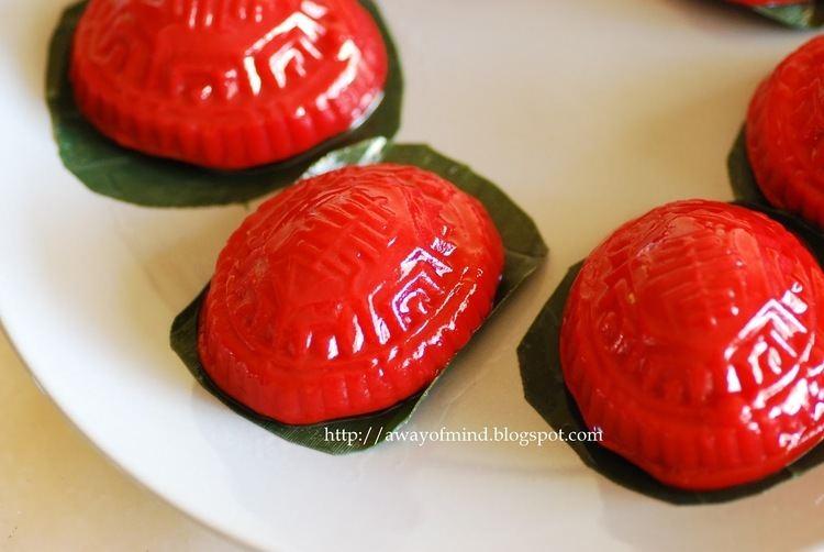 Red tortoise cake Awayofmind Bakery House Sweet Potato Angku Kueh Red Tortoise Cake