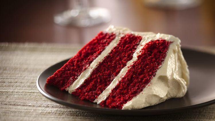 Red velvet cake Classic Red Velvet Cake Recipe BettyCrockercom
