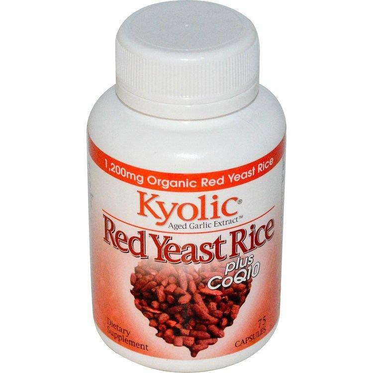 Red yeast rice Wakunaga Kyolic Aged Garlic Extract Red Yeast Rice Plus CoQ10