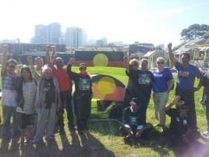 Redfern Aboriginal Tent Embassy thestringercomauwpcontentuploads201405jg3