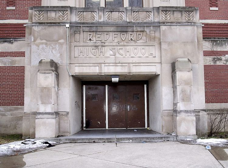 Redford High School Entrance Redford High SchoolDetroit MI This is one of t Flickr