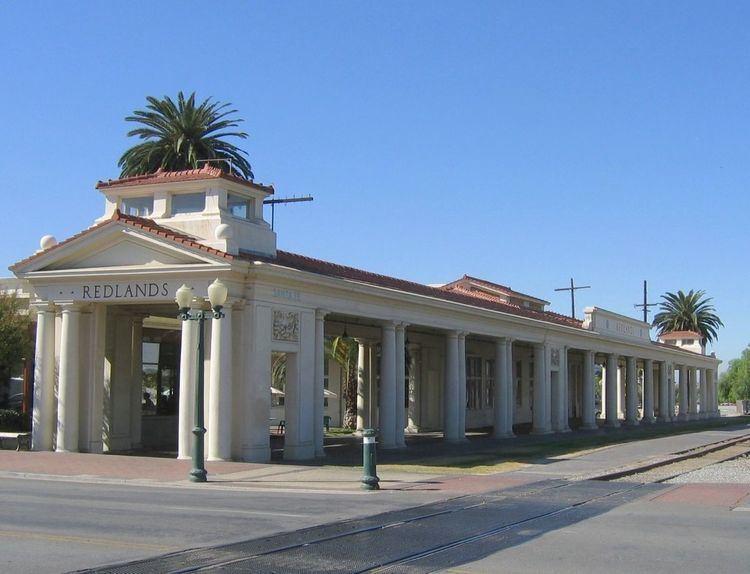 Redlands Santa Fe Depot District
