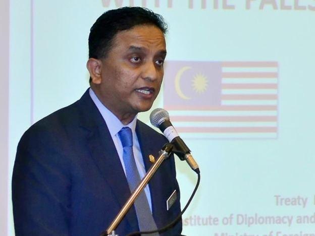 Reezal Merican Naina Merican Reezal Merican wakil Malaysia ke debat PBB Nasional Sinar Harian