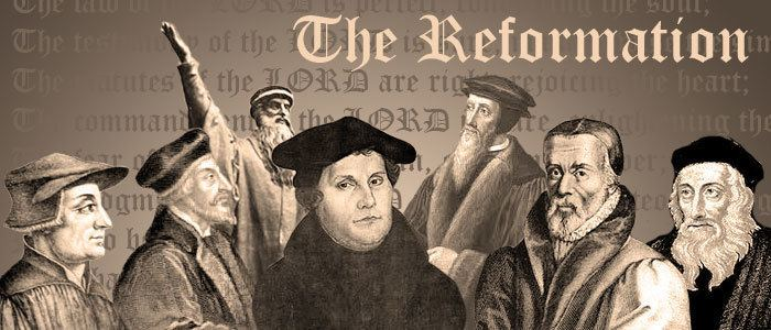 Reformation Teaching the Reformation The Heavy Laden Bookshelf