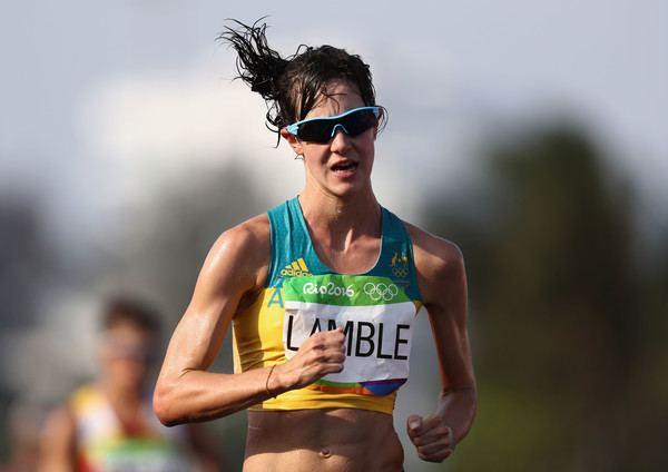 Regan Lamble Regan Lamble Photos Photos Athletics Race Walk Olympics Day 14