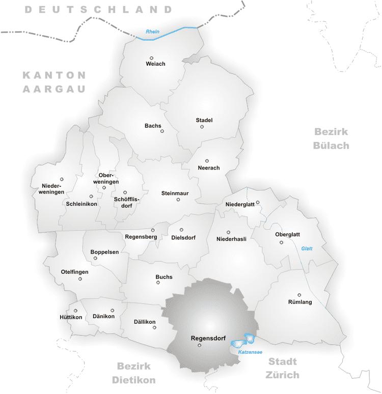Regensdorf in the past, History of Regensdorf