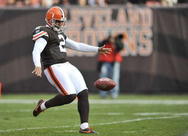 Reggie Hodges Cleveland Browns Stadium is the toughest place to kick