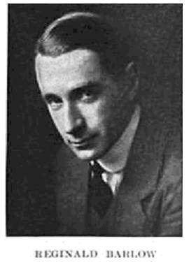 Reginald Barlow Reginald Barlow Wikipedia
