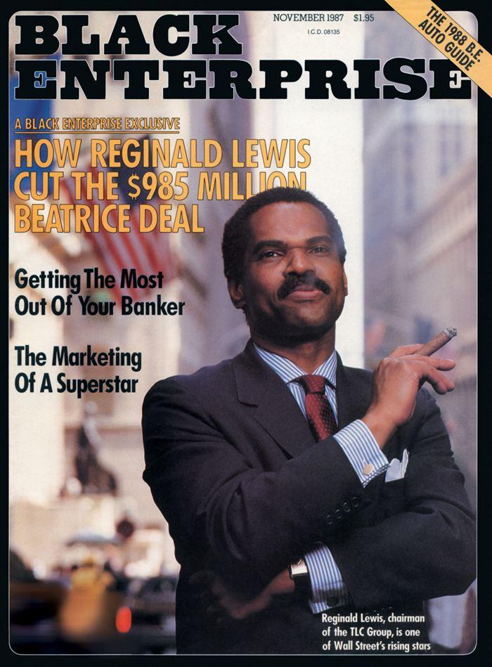Reginald Lewis Forgotten History Businessman Reginald F Lewis Global Black History