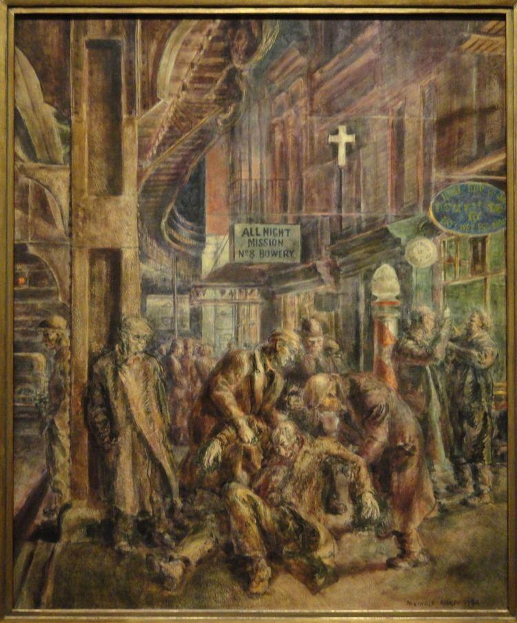 Reginald Marsh (artist) FileSmoke Hounds by Reginald Marsh 1934 Corcoran