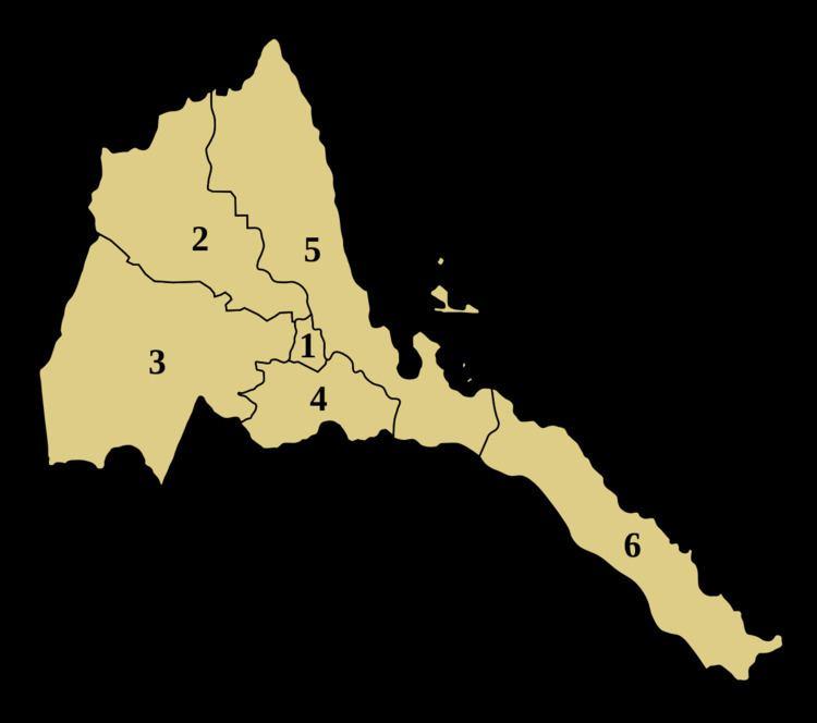 Regions of Eritrea