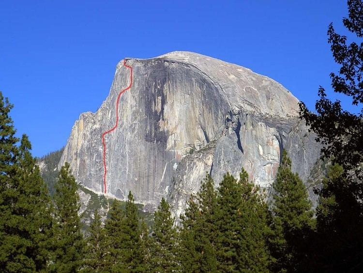 Regular Northwest Face of Half Dome