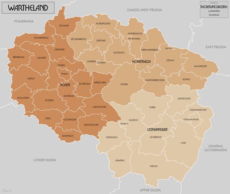 Reichsgau FileWartheland Reichsgau 1944 ENGpng Wikimedia Commons