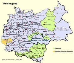 Reichsgau Reichsgau Wikipedia