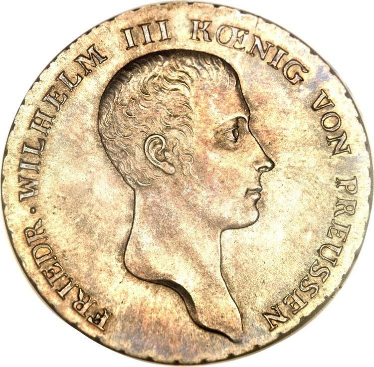 Reichsthaler 1 Reichsthaler Friedrich Wilhelm III German states Numista