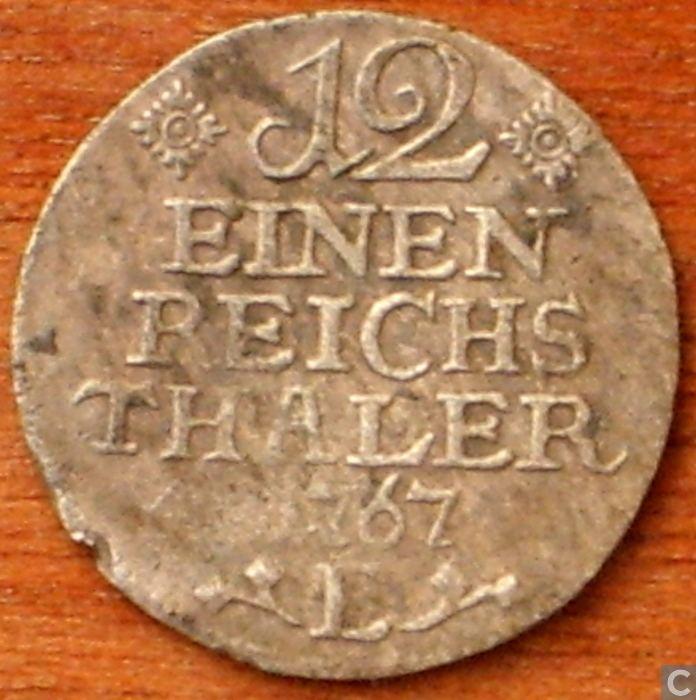 Reichsthaler Prussia 112 reichsthaler 1767 E Prussia coins Catawiki