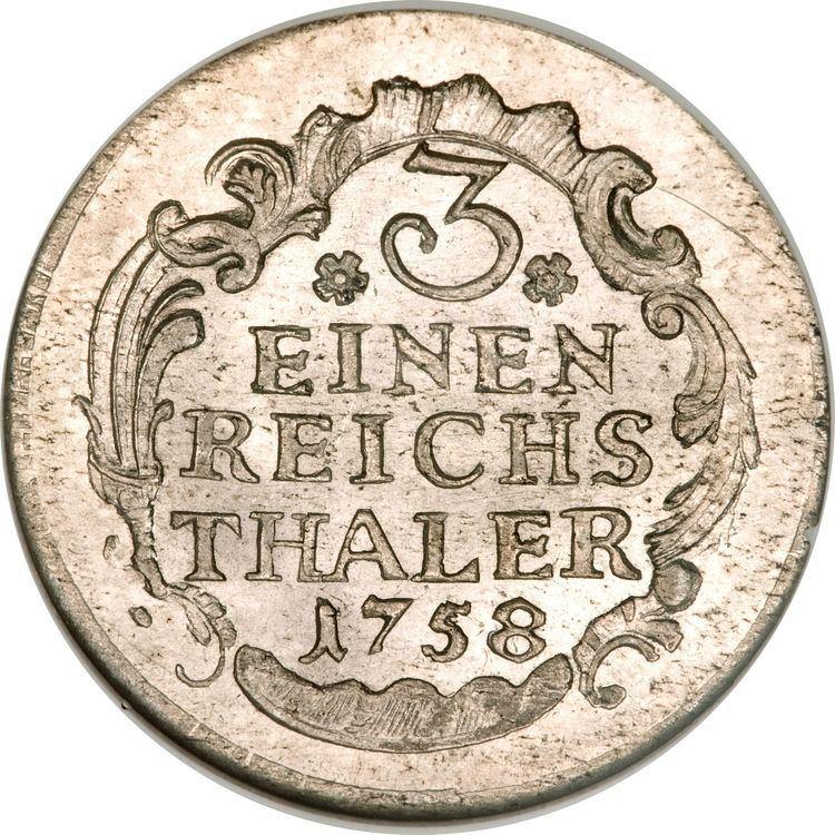 Reichsthaler Reichsthaler Friedrich II German states Numista
